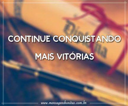 Continue Conquistando mais Vitórias