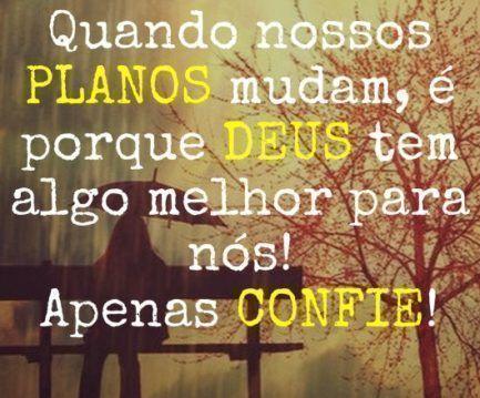 Confia no Senhor!