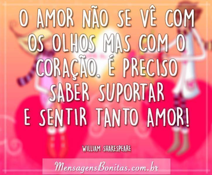 O Amor Mensagens Bonitas Frases De Amor