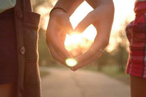 A crônica do amor...