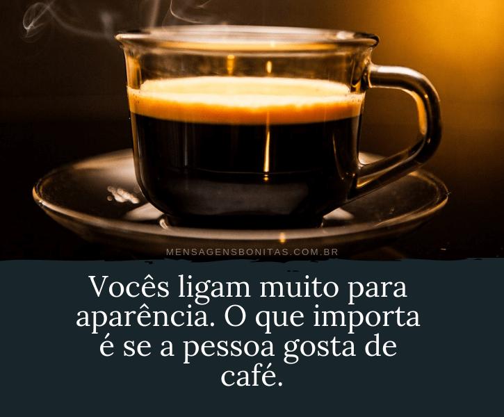 Frases sobre pessoas que gostam de café