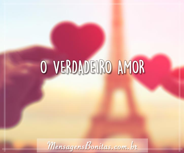 O verdadeiro amor