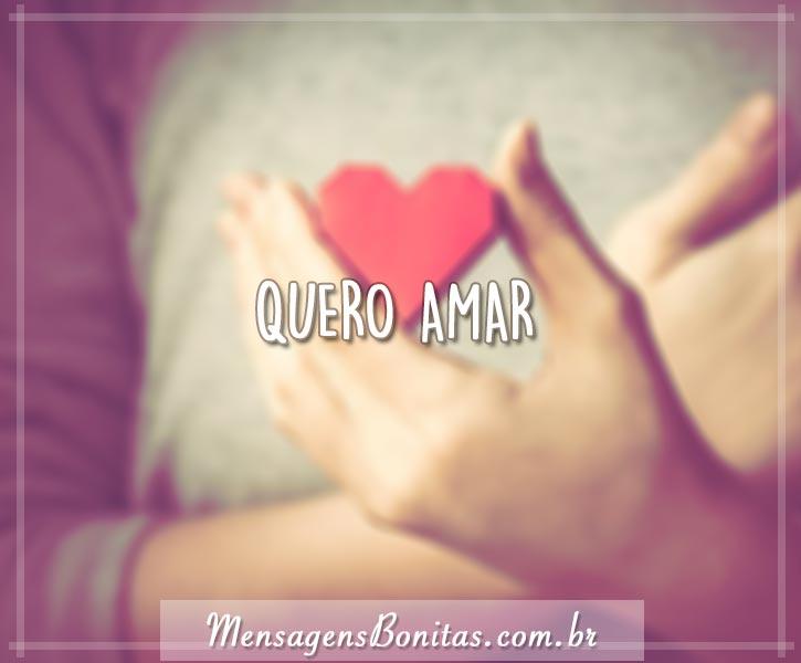 Quero amar