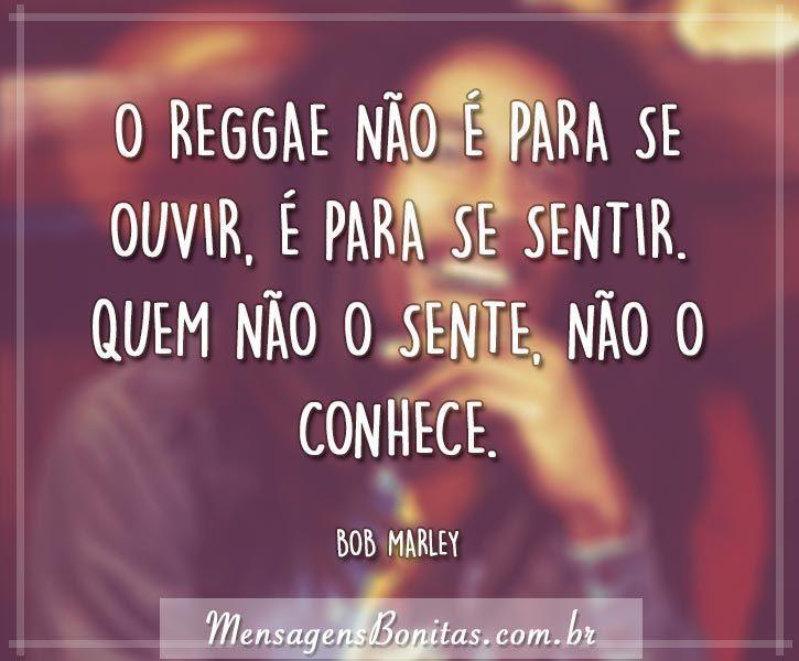 O reggae é para sentir