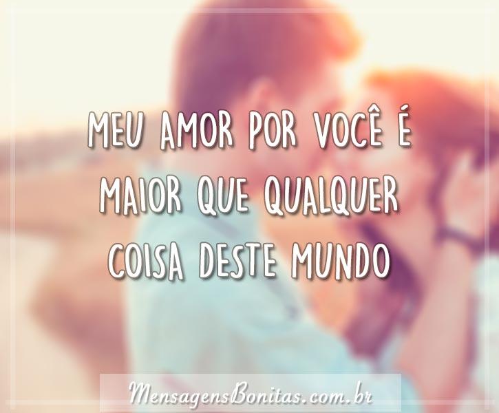 Meu amor por você