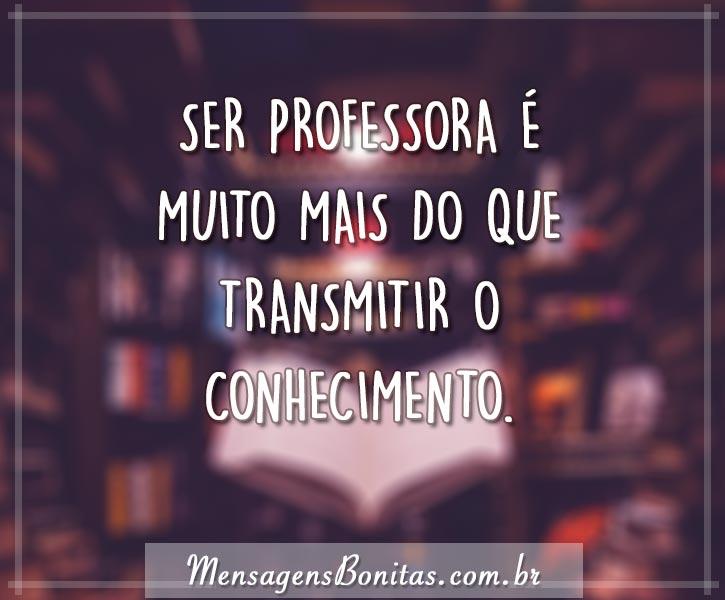 Ser professora